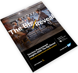 Service Procurement Insights Big Reveal